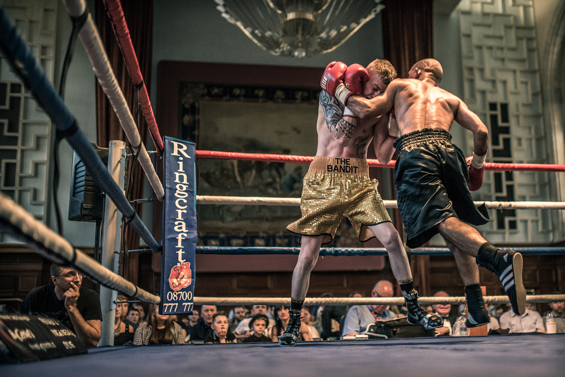 Boxers at Plymouth Guildhall