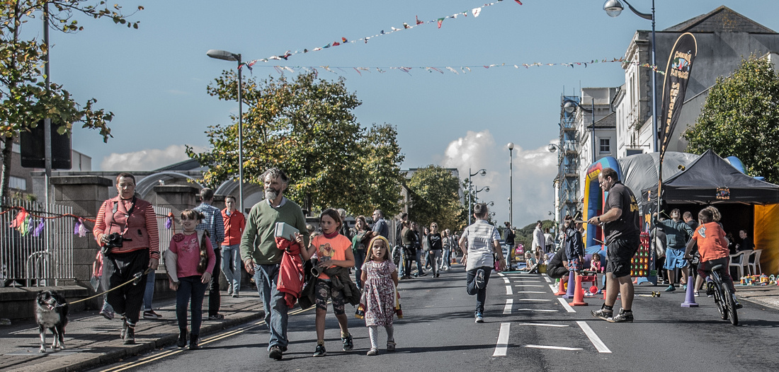 A street party