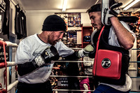Speight and Townley Public Workout at Champs Gym with Jack Green