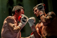 Fright Night Boxing 29/10/16 Editorial Use