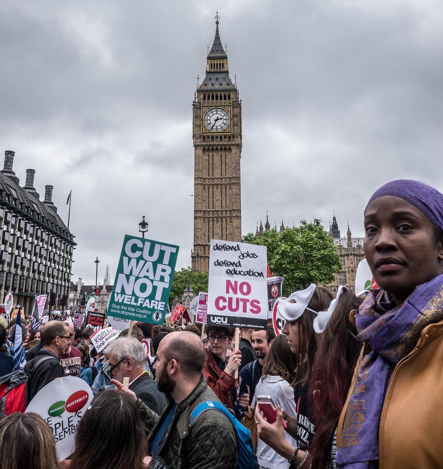 Cut War not Welfare